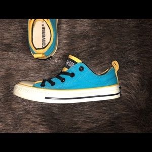 Converse Shoes - Blue and Yellow Converse All Stars ⭐️